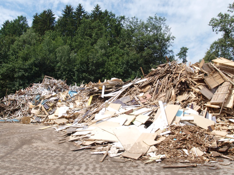 Altholz / waste wood - Input