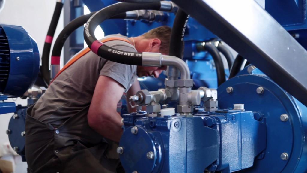 Service Hydraulik / hydraulics